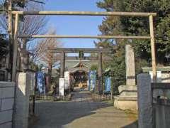 鷺宮八幡神社鳥居