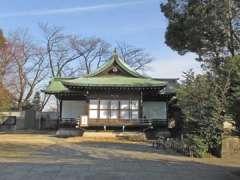 鷺宮八幡神社神楽殿