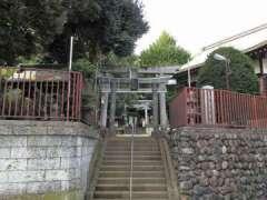 上高田氷川神社鳥居