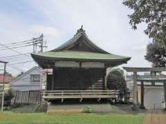 上高田氷川神社神楽殿