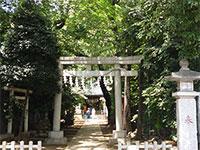 神明氷川神社鳥居