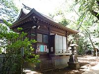 神明氷川神社神楽殿