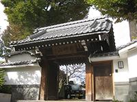 神足寺山門