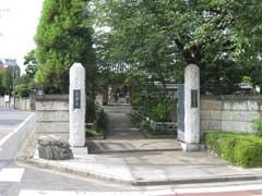 光伝寺参道