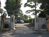 大泉寺山門