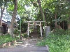 旭町稲荷神社鳥居