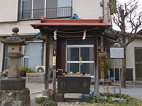 一山稲荷神社水盤