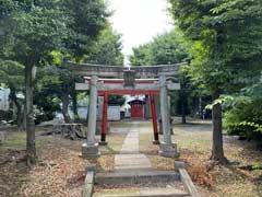 西本村稲荷神社鳥居