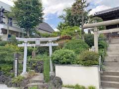 北町浅間神社拝殿