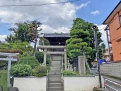 北町浅間神社富士塚