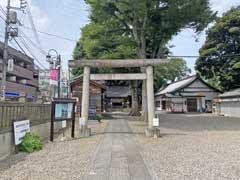 江古田浅間神社鳥居
