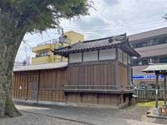 江古田浅間神社神楽殿