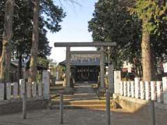 中村八幡神社鳥居