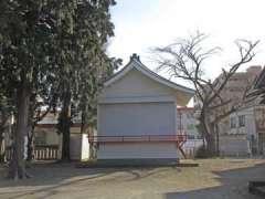 中村八幡神社神楽殿