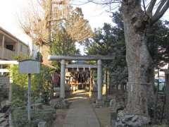 中村御嶽神社鳥居