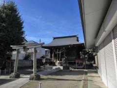練馬白山神社拝殿
