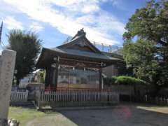 練馬白山神社神楽殿