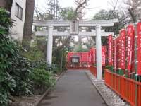 武蔵野稲荷神社鳥居