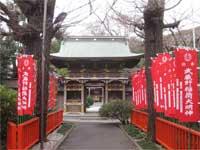 武蔵野稲荷神社随神門
