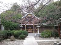 武蔵野稲荷神社拝殿