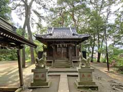 高稲荷神社拝殿