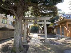竹下稲荷神社鳥居