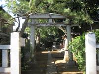 石神井神社鳥居