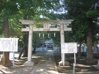 北野八幡神社一鳥居