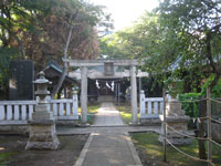 北野八幡神社二鳥居