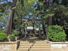 氷川神社境