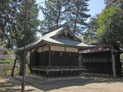 氷川神社石碑