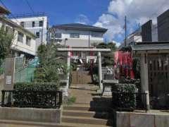 林稲荷神社社殿