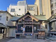 練馬大鳥神社拝殿