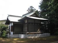 諏訪神社神楽殿