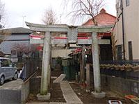 土支田北野神社鳥居