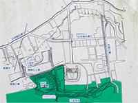 石神井城跡図