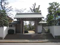 敬覚寺山門