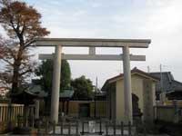 新井宿春日神社鳥居