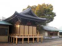新井宿春日神社神楽殿