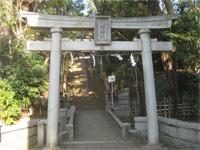 田園調布八幡神社鳥居