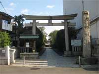六郷神社鳥居