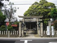 若宮八幡神社鳥居