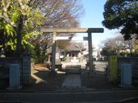 萩中神社鳥居