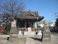 萩中神社拝殿