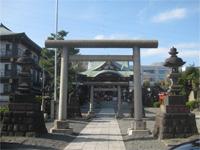 羽田神社参道