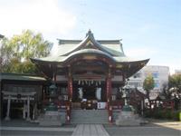 羽田神社拝殿