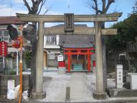 鷗稲荷神社鳥居