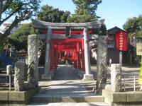 上田妙法稲荷神社鳥居