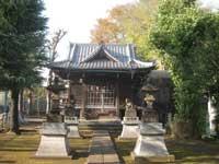 堤方神社拝殿