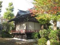 堤方神社神楽殿